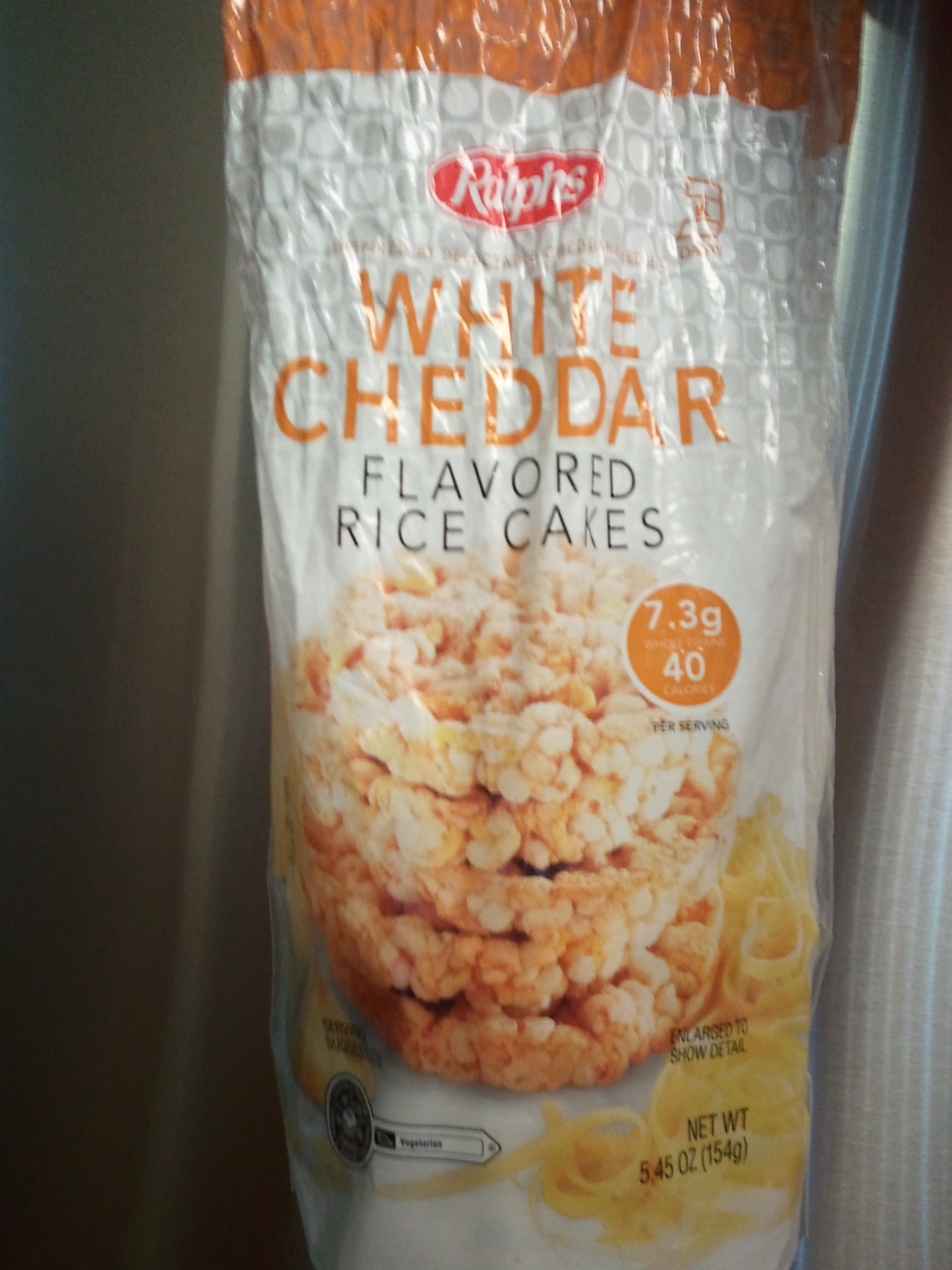 Ralph's White Cheddar Flavored Rice Cakes