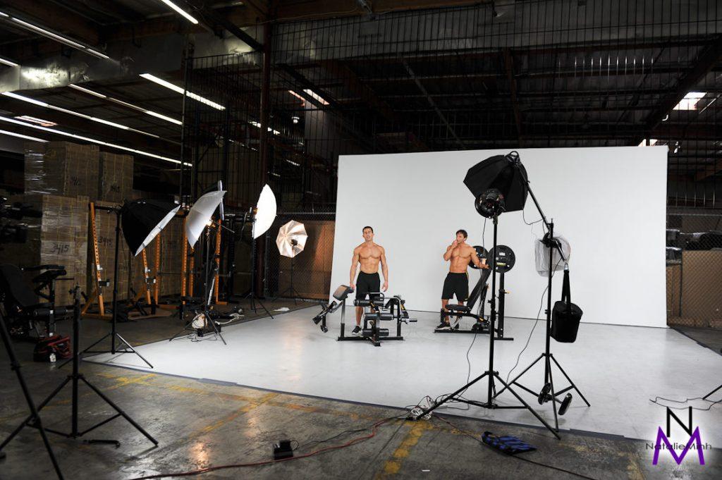 Powertec 2011 Catalog Shoot – Julien Greaux and Ian Lauer