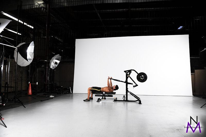 Powertec 2011 Catalog Shoot - Demetris Patsalos
