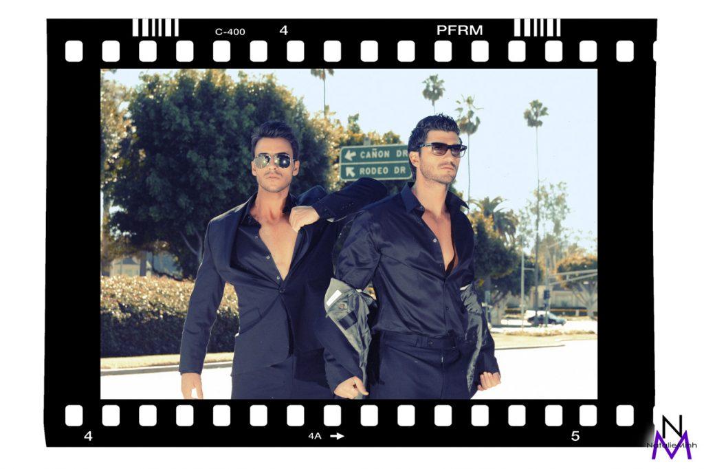 Greek Models Aris Patsalos & Demetris Patsalos