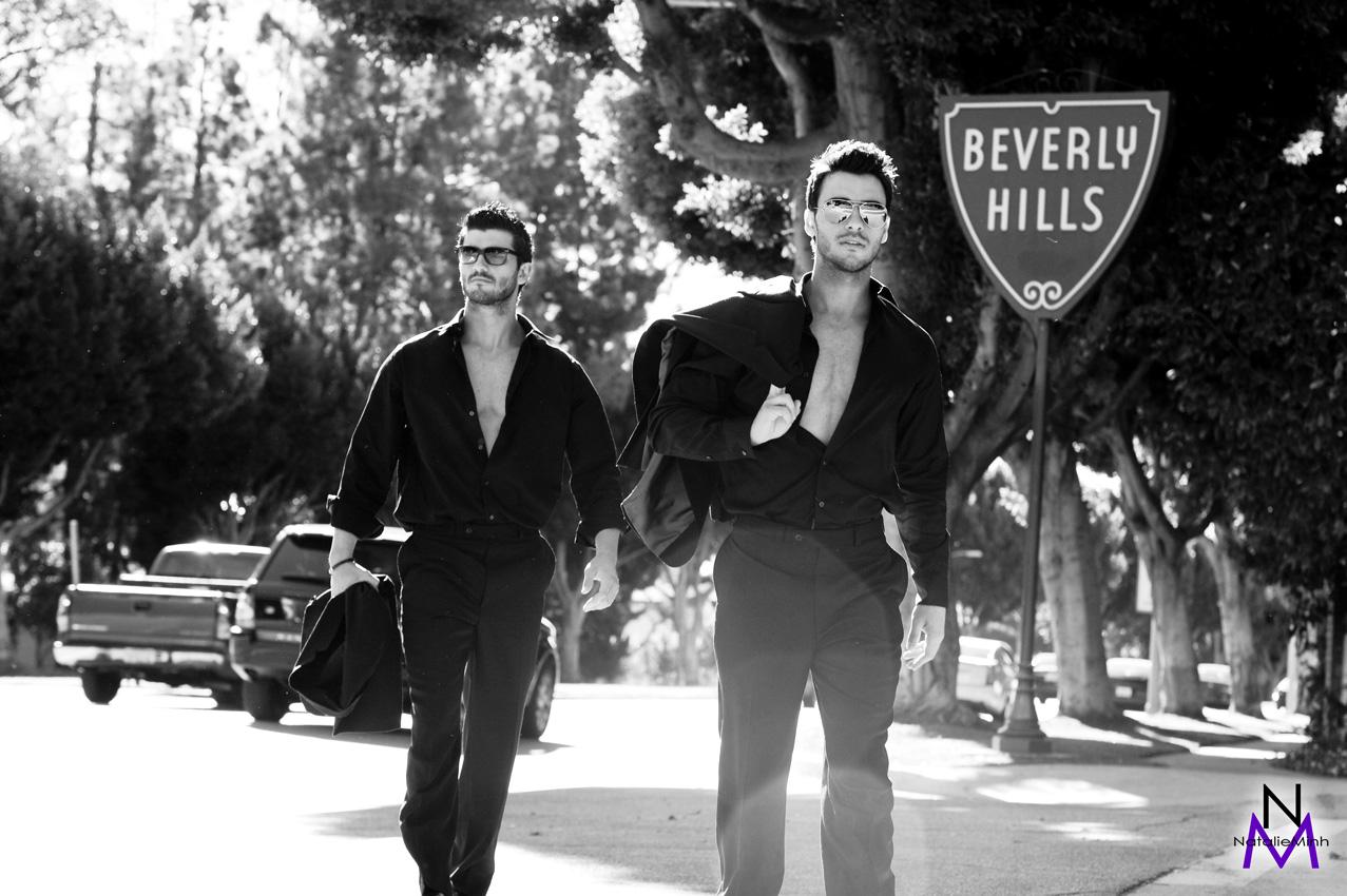 Greek Fitness Models Aris Patsalos & Demetris Patsalos