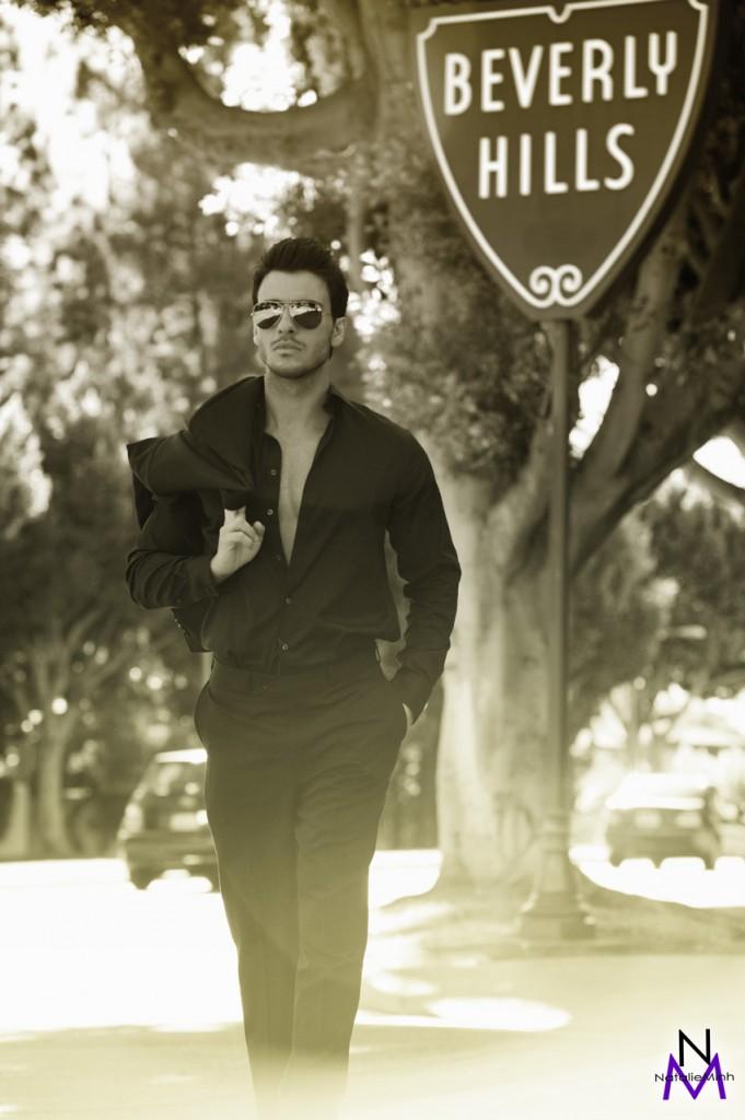 Greek Fitness Model Aris Patsalos