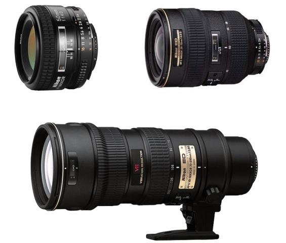 nikon d700 lenses