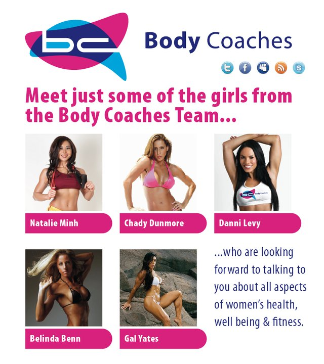 Body Coaches Team - Female Side