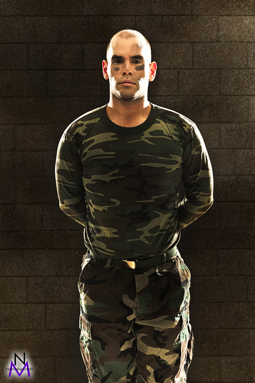 Gary Augustine Warren Military Fatigues Weight Loss Story