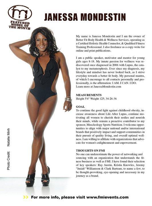 Fitness Model Janessa Mondestin