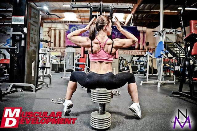 2011 Fitness Olympia Competitor Oksana Grishna