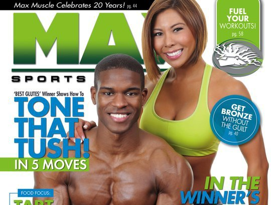 Fitness Models Natalie Minh & Frank Jones Gets The Cover of Max Sports & Fitness Magazine
