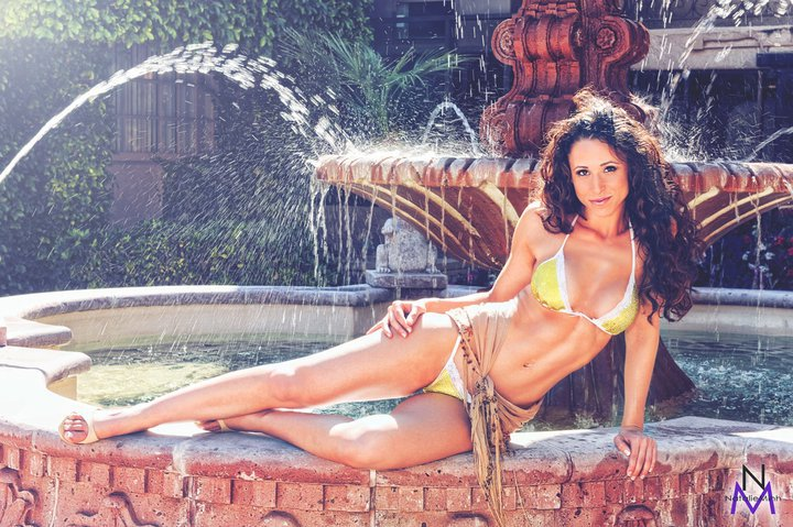 Fitness Model Natalie Lerma
