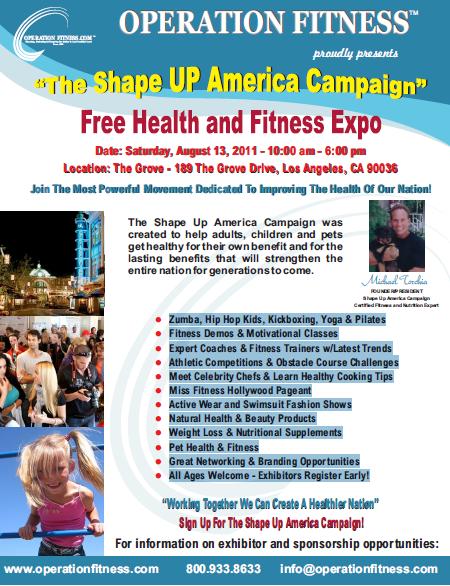 2011 Shape Up America Health & Fitness Expo