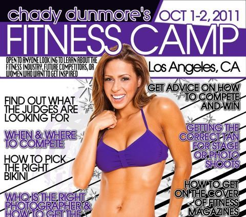 2x WBFF PRO Bikini World Champion Chady Dunmore's Fitness Camp