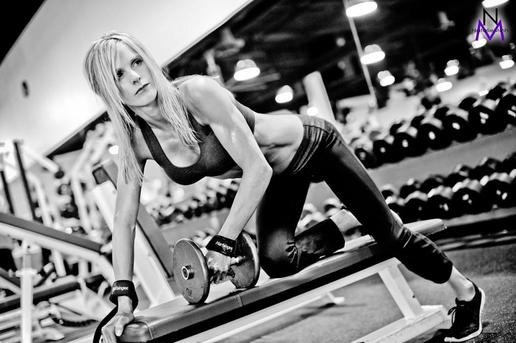 Fitness Model Kate Kline