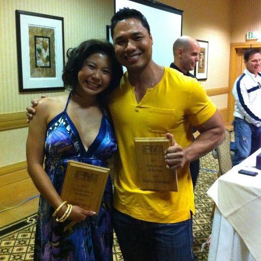 FMI 2011 Awards - Natalie Minh & Bobby Ashhurst