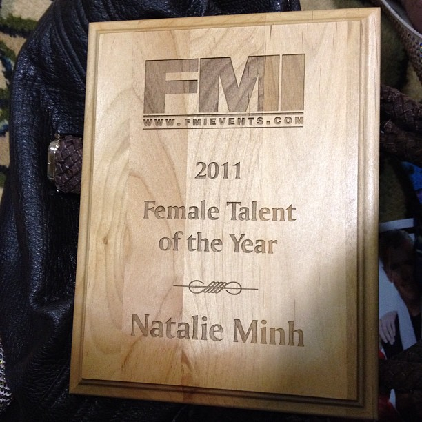 Natalie Minh - FMI 2011 Female Talent of the Year