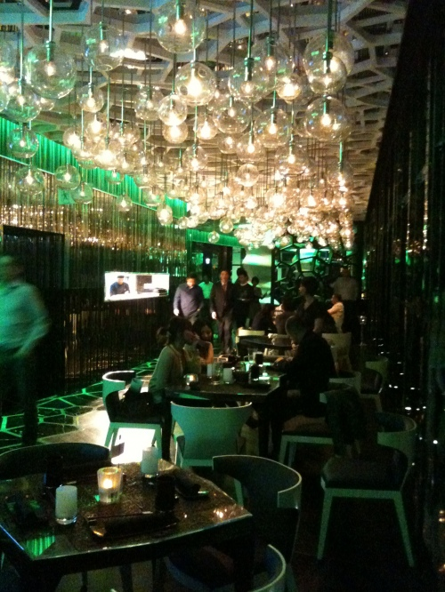 Ozone bar, Ritz Carlton, Kowloon