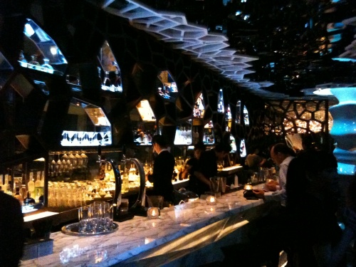 Ozone bar, Ritz Carlton