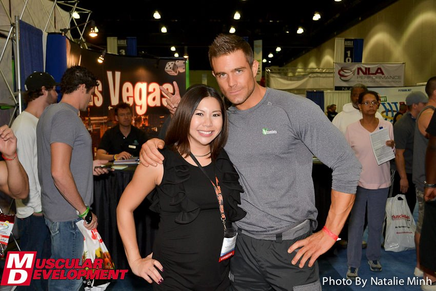 Fitness Photographer Natalie Minh with Fitness Model David Kimmerle