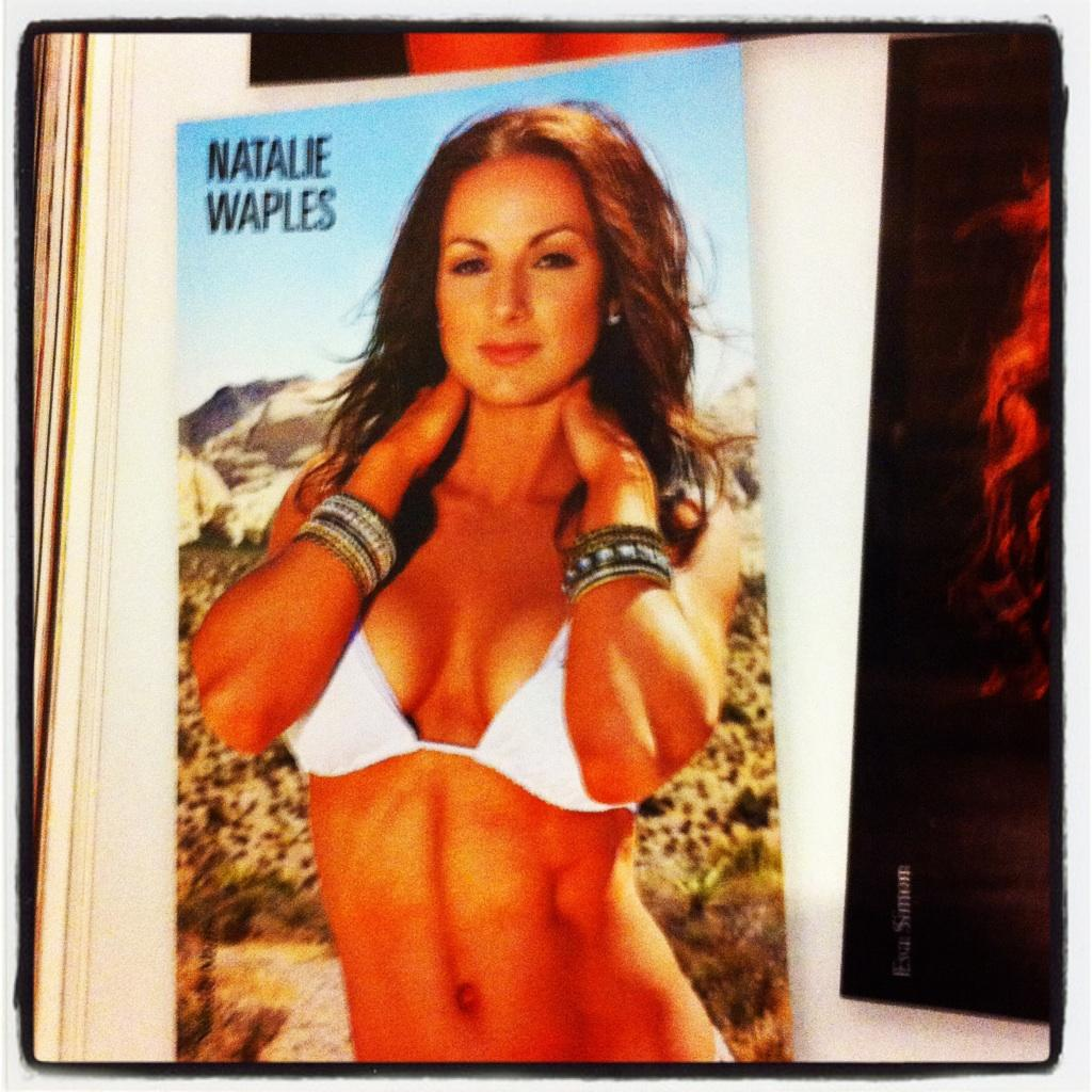 IFBB Pro Natalie Waples on Hot & Fit 100 with Inside Fitness Magazine