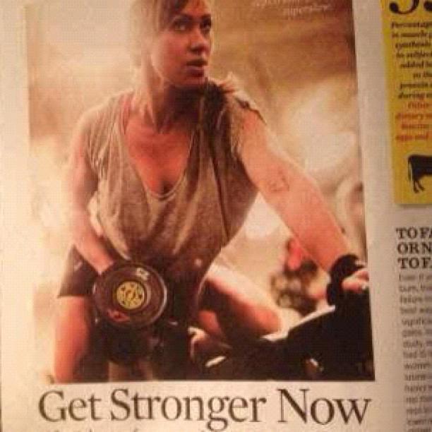 Latest Muscle & Fitness Hers Feature  Figure Star Lauren Jacobsen