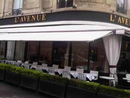 L'Avenue paris