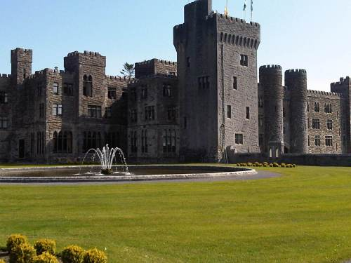 Ashford Castle in Cong, Ireland