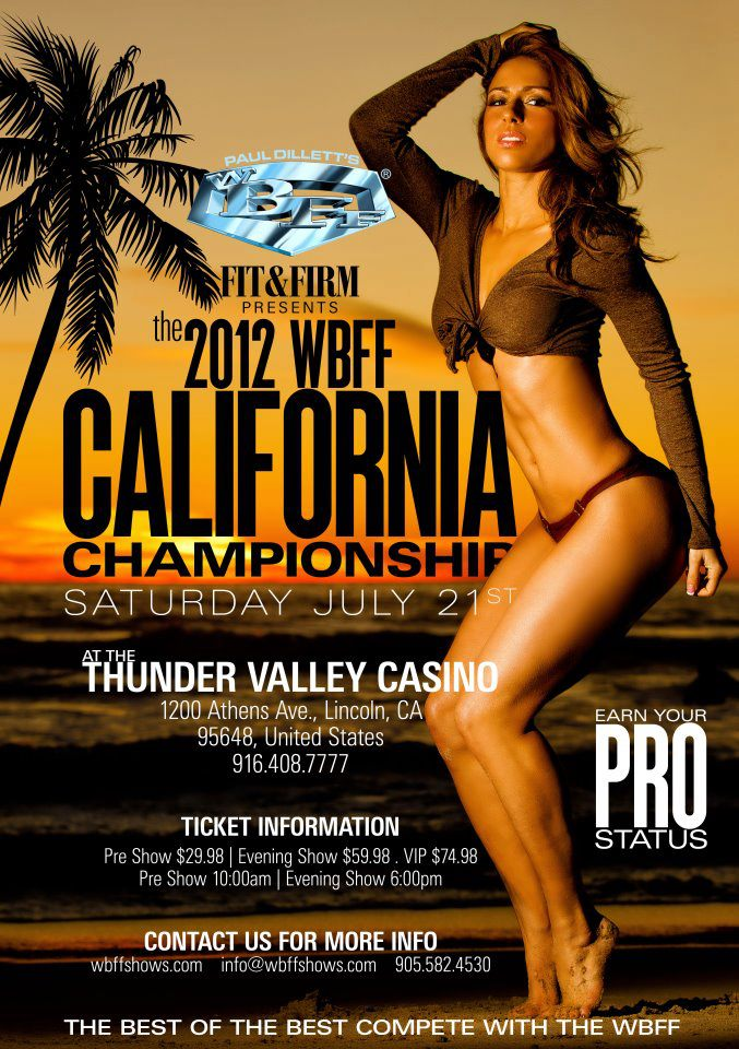 The 2012 WBFF California Championship
