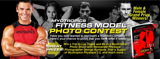 Myotropics Fitness Model Facebook Contest