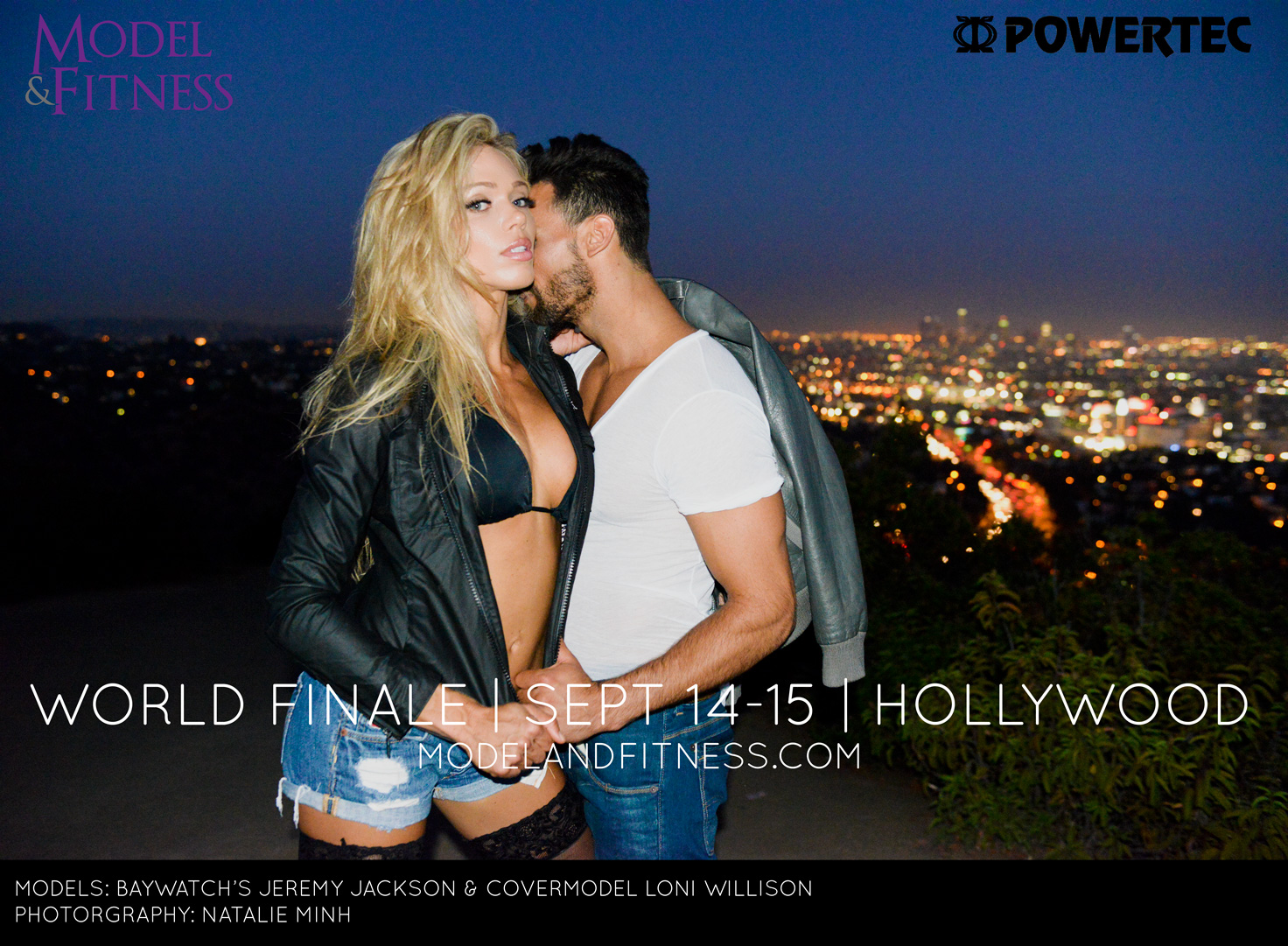 Jeremy Jackson and Covermodel Loni Willison