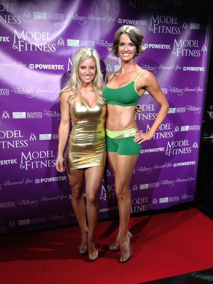 Fitness Talent, Meggan Clay & FMI Alum, Jennifer Sloan