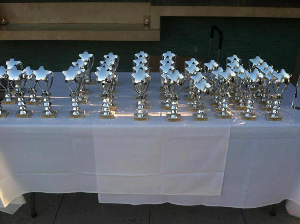 Powertec Model & Fitness World Finale Trophies