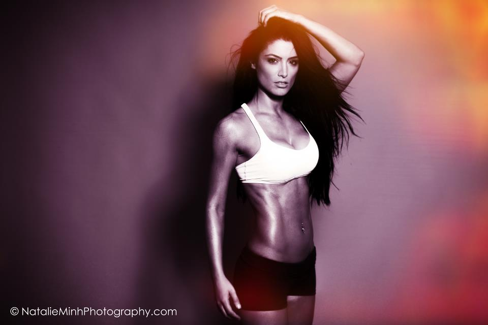 2012 Powertec Model & Fitness Overall fashion Winner Natalie Eva Marie
