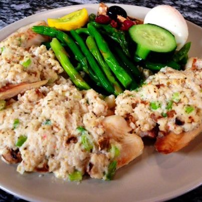 Crab Meat Tilapia