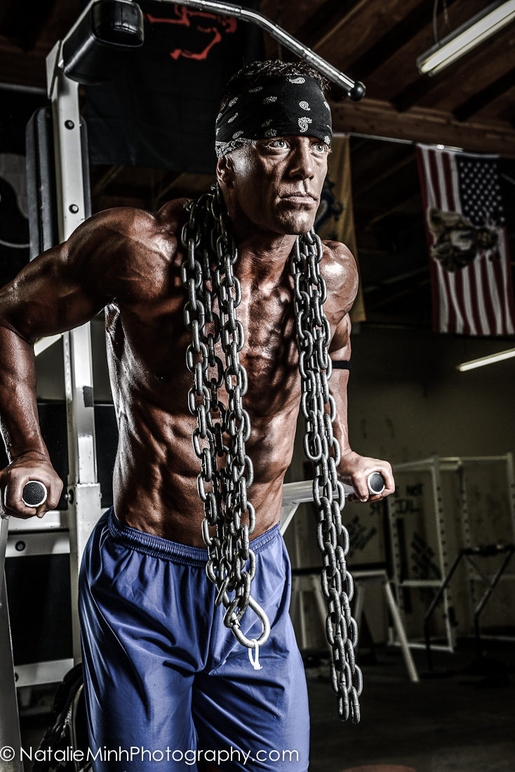 Air Force Officer & Fitness Competitor Keith Vanderhoeven