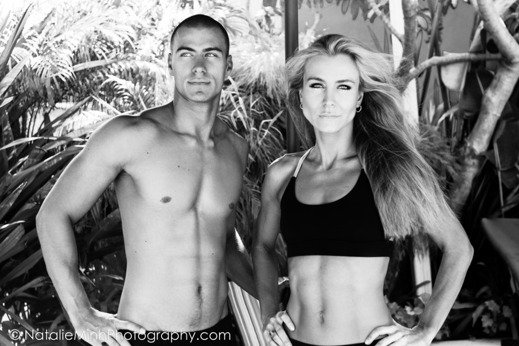 Fitness Model Valer Bobak with sister Veronika Bobakova