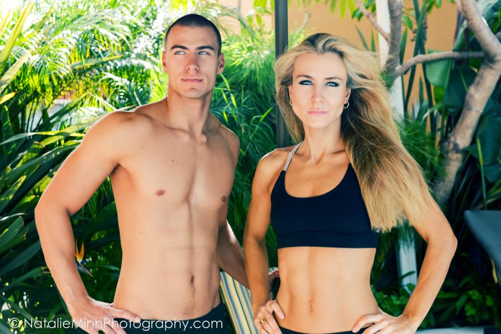 Veronika Bobakova with Fitness Model Valer Bobak