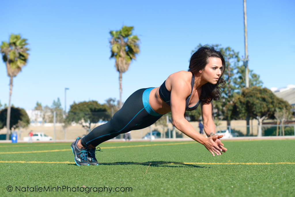 Fitness Model Nicki Crapotta