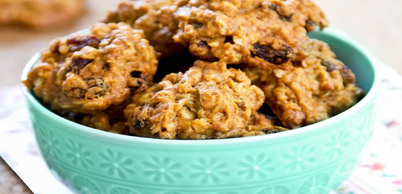 Vanessa Chow Grandma Oatmeal Cookies
