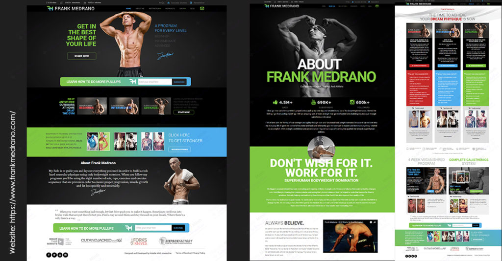 Frank Medrano Website