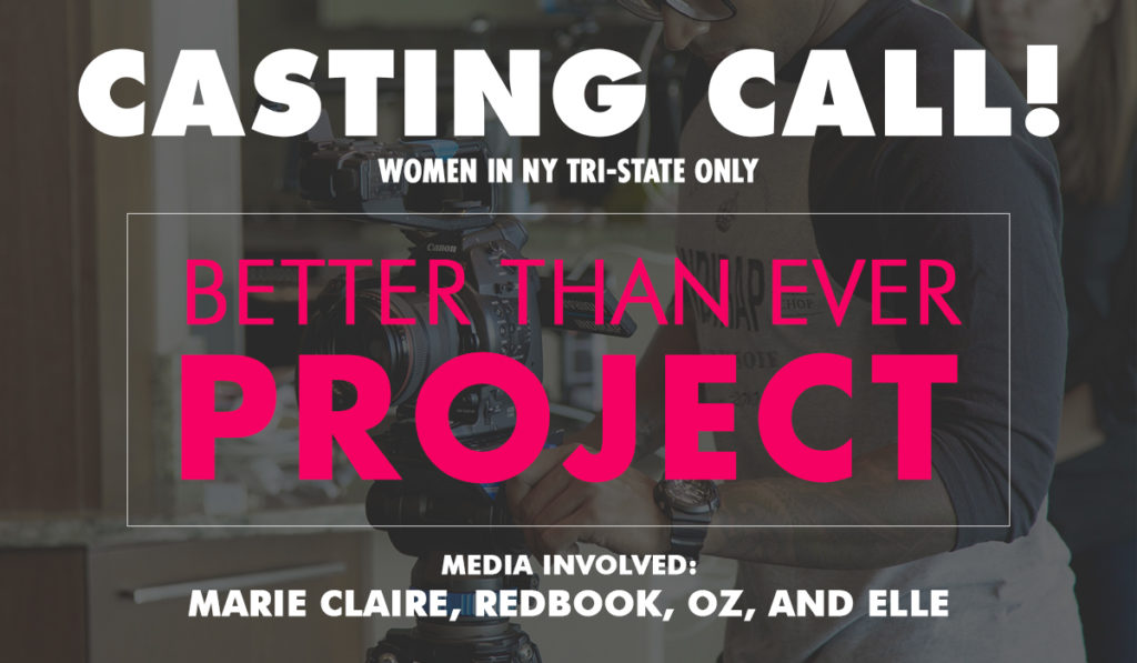 Fit Lifestyle Mag Better Than Ever Project Casting Call