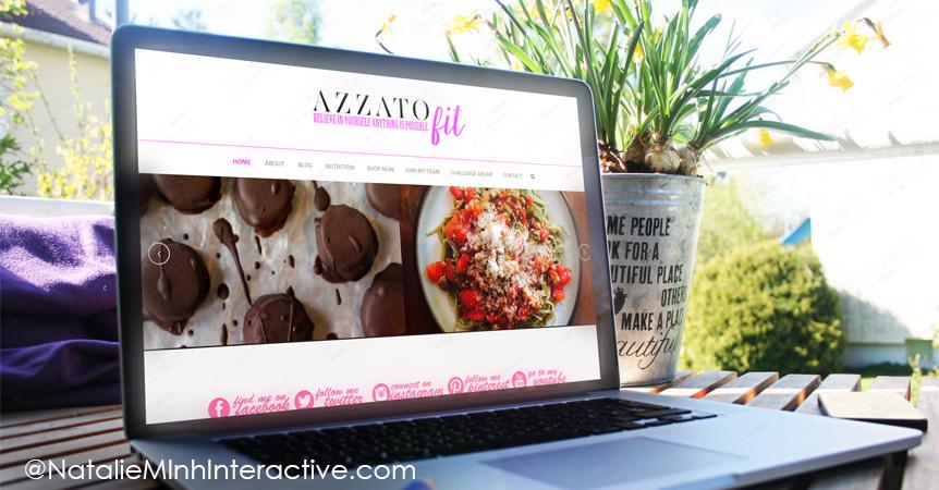 Amy Azzato Website