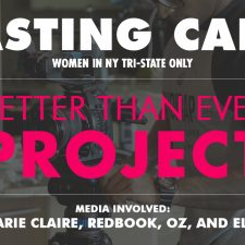 CASTING! Women in NY Tri-State only